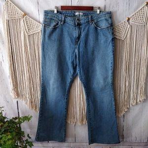 Levi's 515 Light Blue Bootcut Jeans 18